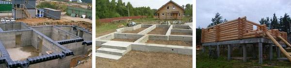 Фундамент частного дома 2