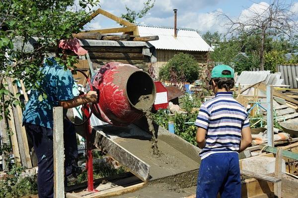 Как приготовить бетон в бетономешалке 5