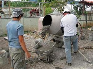 Как приготовить бетон в бетономешалке 1