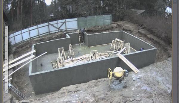 Как собрать цокольный этаж из блоков 4