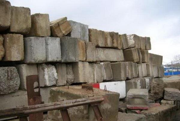 Размеры фундаментных блоков по ГОСТу 5