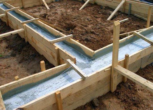 Каким должен быть фундамент под блочным строением 2