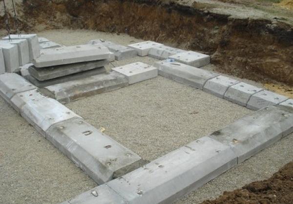 Собираем легкий фундамент из фундаментных блоков 20х20х40 4