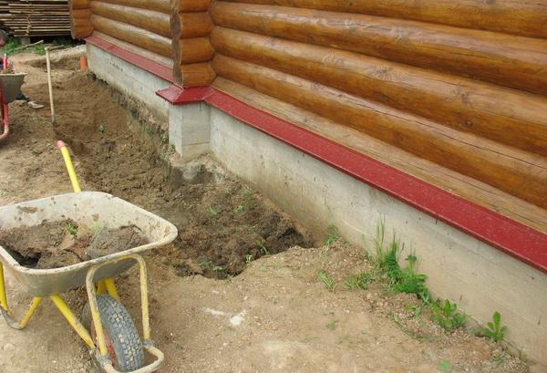 Как сделать отмостку из глины своими руками 4