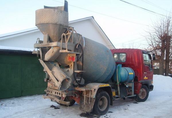 Доставка бетона маленьким миксером - насколько это выгодно 3