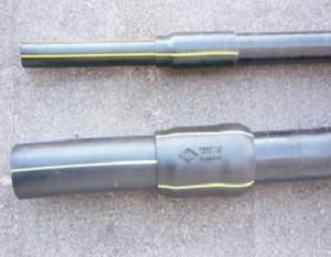 Цокольный ввод Г образный для газопровода в дом 1