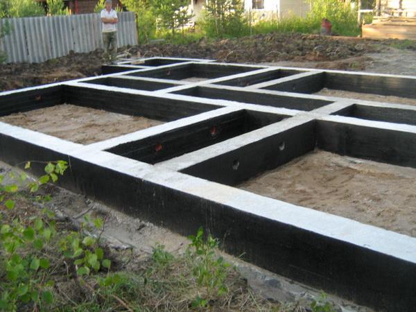 Как правильно сделать ленточный фундамент под дом - смотрим СНиП 3