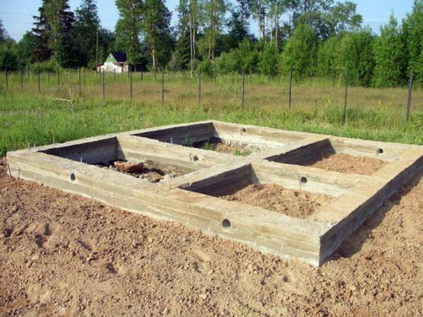 Фундамент для бани 4х6 и 6х6 - выбираем оптимальный вариант 4