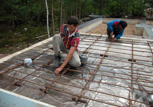 Фундаментные плиты - размеры и толщина плиты под дом из кирпича и блоков 3