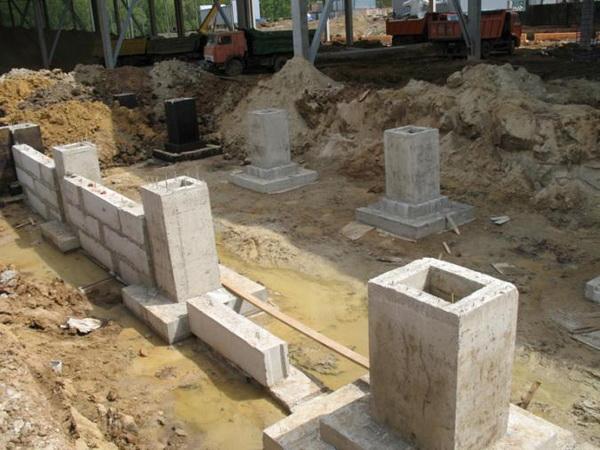 Фундаменты стаканного типа под металлические колонны 2