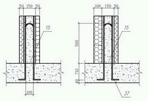 Как сделать опалубку под фундамент дома из пенополистирола 3