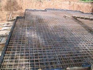 Армирование монолитной плиты перекрытия – как укладывать плиту перекрытия на фундамент 1