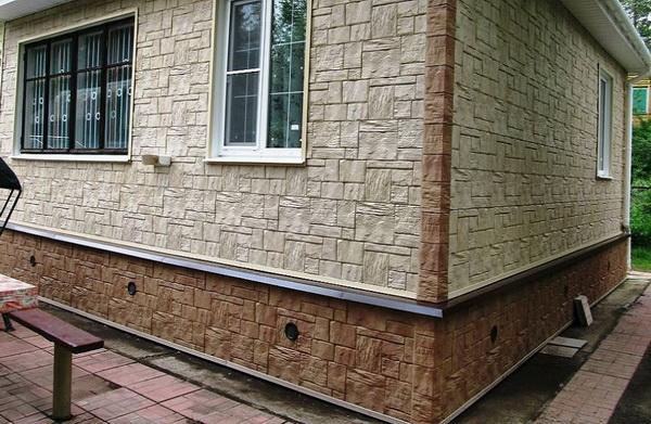 Цокольные панели под камень – варианты и дизайн для цоколя частного дома 5