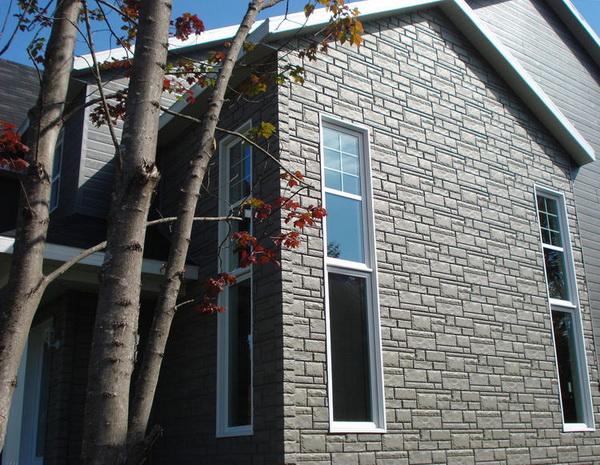 Цокольный сайдинг под камень – декорируем цоколь частного дома 3