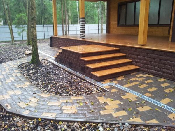 Устройство отмостки вокруг дома из бетона − оптимальные параметры бетонной отмостки 2