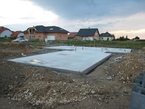 Расчет фундаментной плиты, армирование и устройство плитного фундамента дома 1