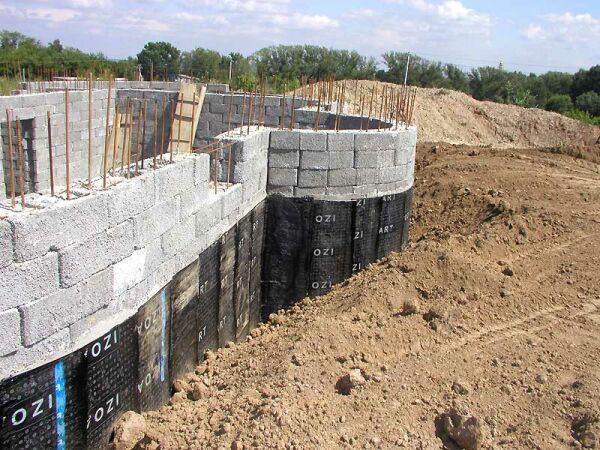 Строительство цокольного этажа частного дома своими руками 2
