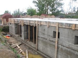 Строительство цокольного этажа частного дома своими руками 1