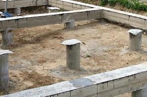 Делаем буронабивной фундамент с ростверком для дома 1