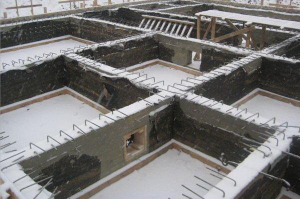 Гидроизоляция цокольного этажа и ростверка изнутри