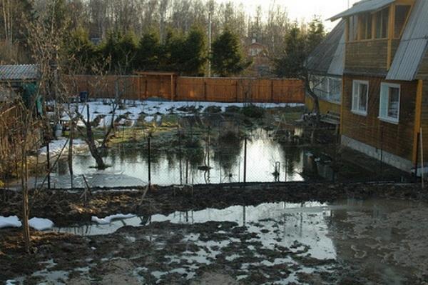 Фундамент на болотистой почве 2