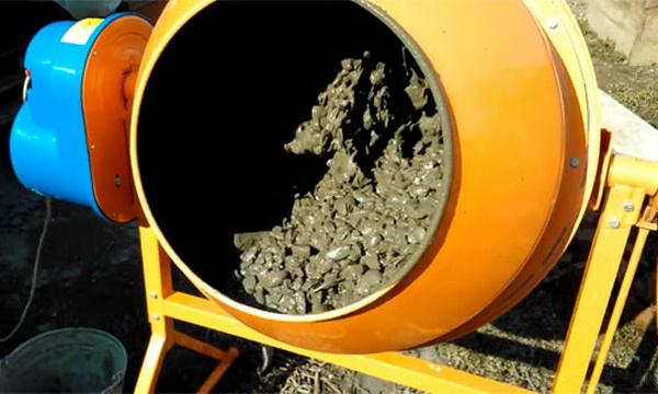 Как приготовить бетон в бетономешалке 2