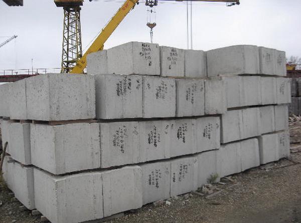 Размеры фундаментных блоков по ГОСТу 4