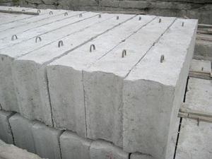 Размеры фундаментных блоков по ГОСТу 1