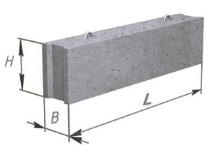 Вес блоков ФБС - сколько весят фундаментные блоки 1