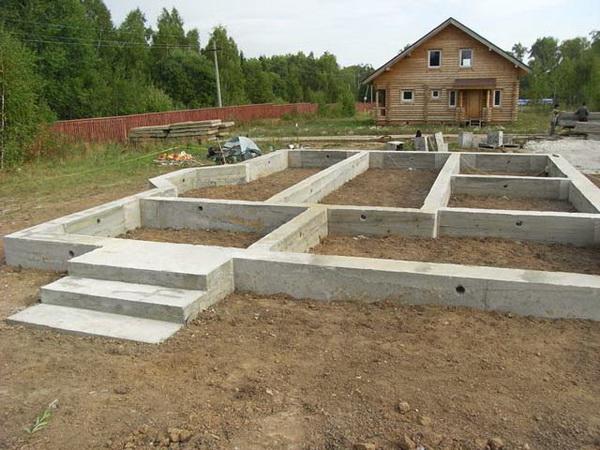 Как правильно сделать ленточный фундамент под дом - смотрим СНиП 2