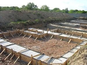 Как правильно сделать ленточный фундамент под дом - смотрим СНиП 1