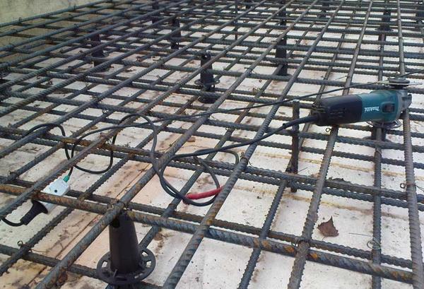 Армирование монолитной плиты перекрытия – как укладывать плиту перекрытия на фундамент 5