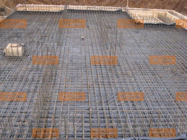 Расчет фундаментной плиты, армирование и устройство плитного фундамента дома 4